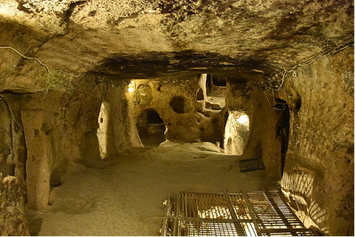 Room in Kaymakli underground city