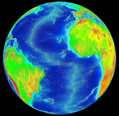 Atlantic Ocean Source:NASA