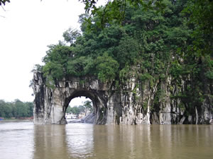 Elephant Trunk Hill in Guilin Hills
