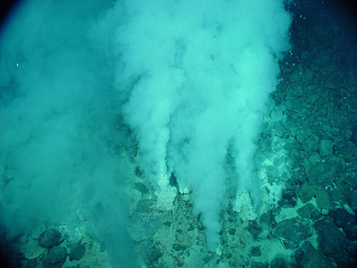 Hydrothermal vent. Source: US National Oceanic and Atmospheric Association