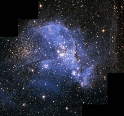 Part of Small Magellanic Cloud