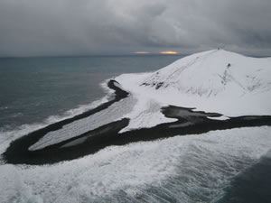 North Spit of Surtsey January 2009
